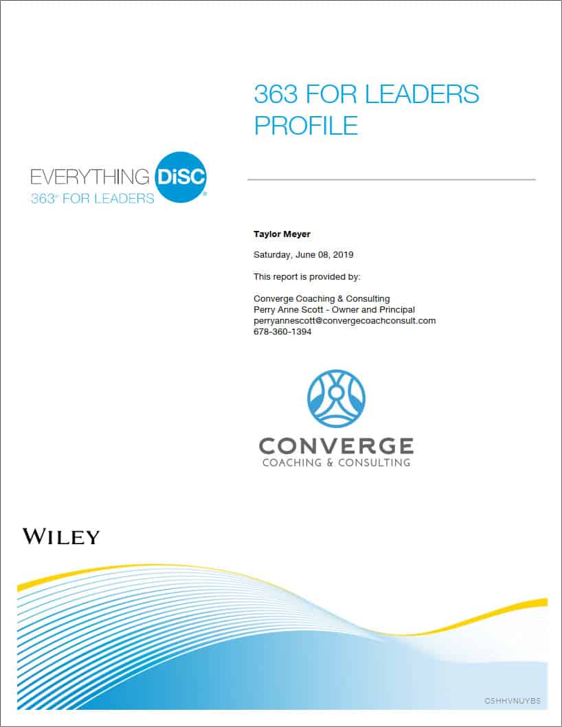 363 for Leaders cover page