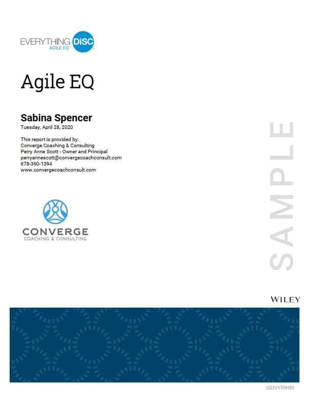 Agile EQ cover page